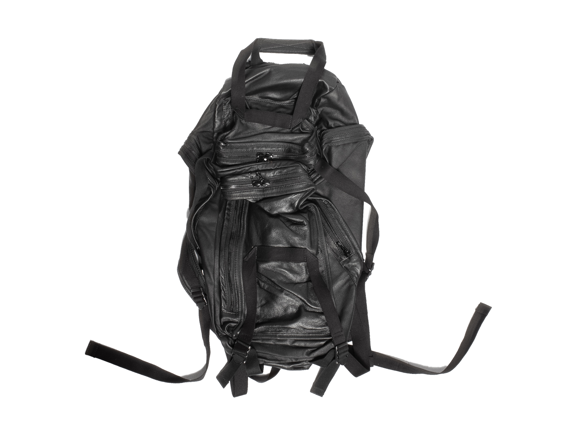 557BGU1-S-BLACK / インバーテッドミリタリーバックパック