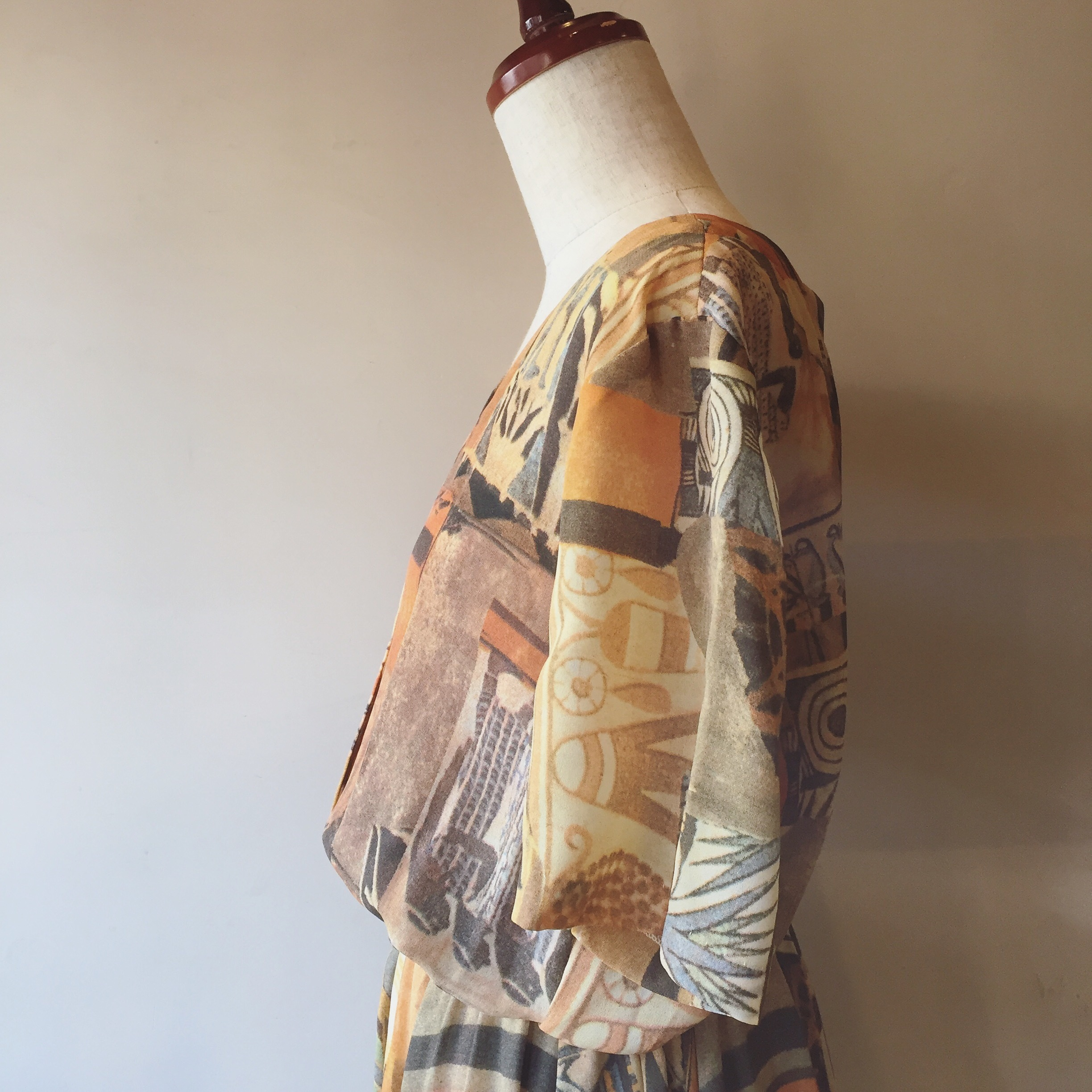 vintage  Egyptian design onepiece