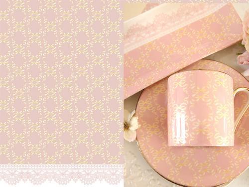 GOLD RIBBON ピンク