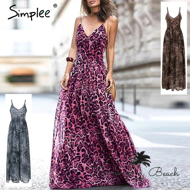 【FlamingoBeach】leopard dress
