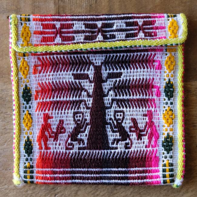 タラブコ織りのミニケース /pb8a/ BOLIVIA ボリビア