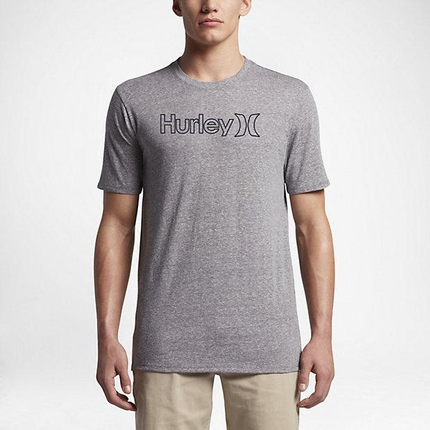 HURLEY Tシャツ  メンズS GRAY