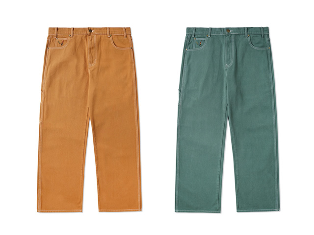 BUTTERGOODS|OVERDYE DENIM WORK PANTS
