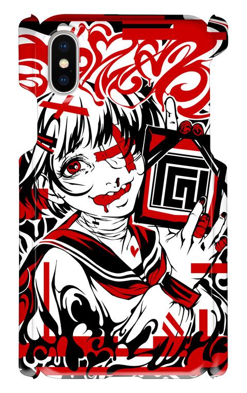 (iPhoneX)Tシャツ図柄