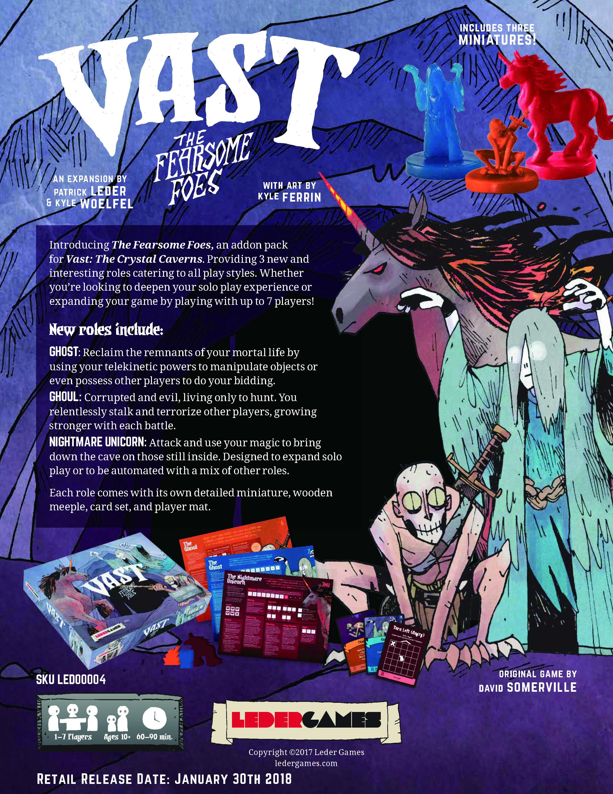 VAST拡張:The Fearsome Foes(日本語説明書・シール付き予定)