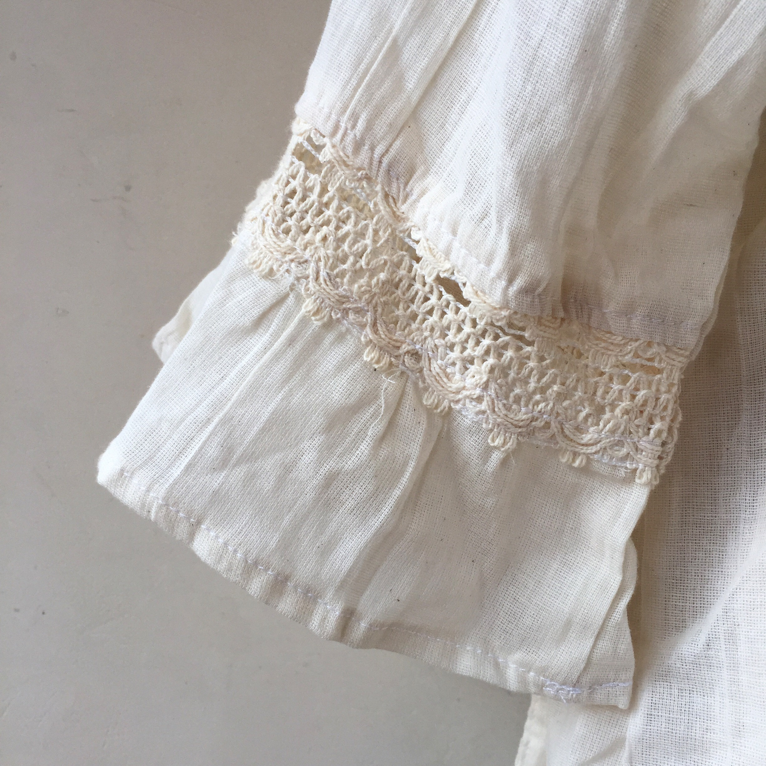 vintage cotton gauze tops
