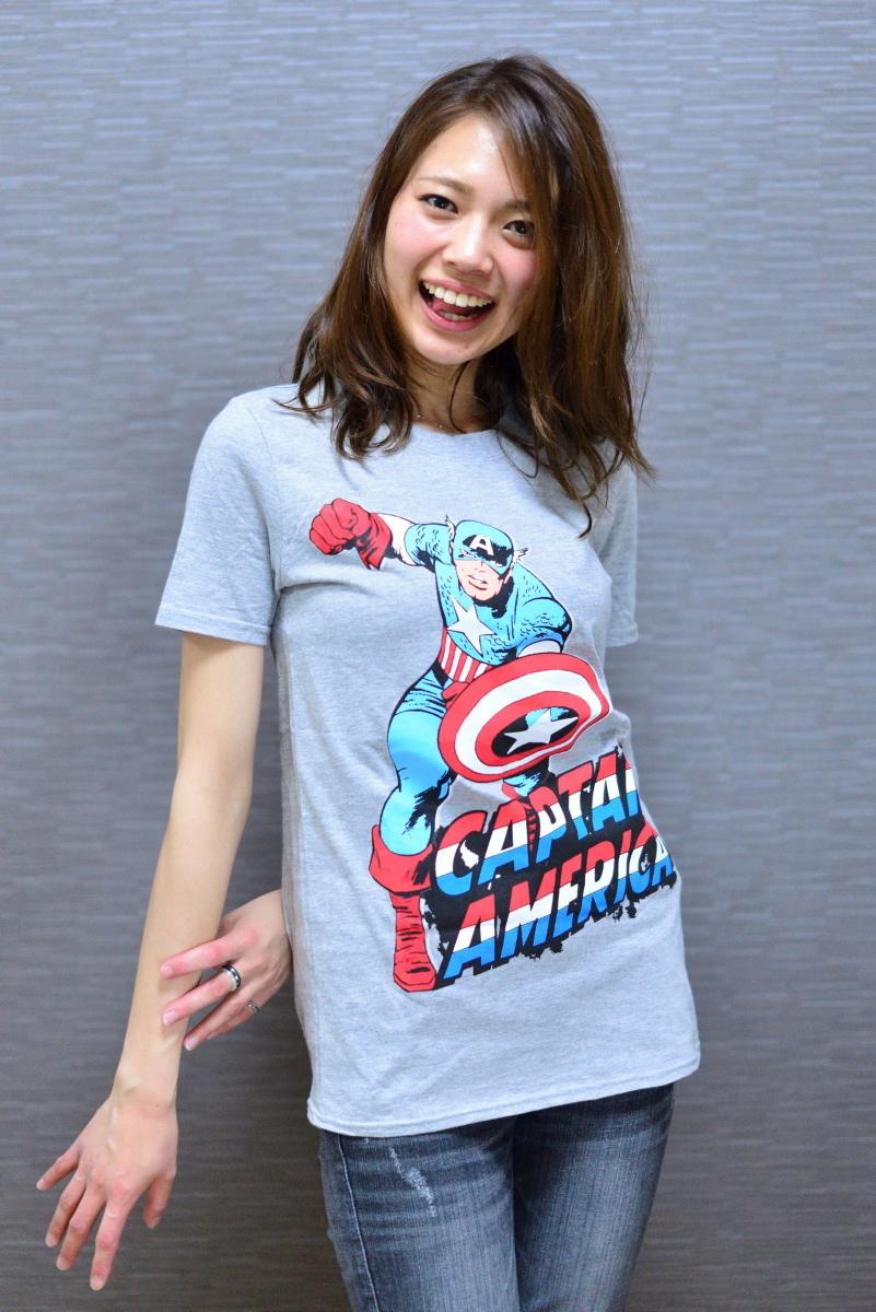 Marvel キャプテンアメリカ Tシャツ
