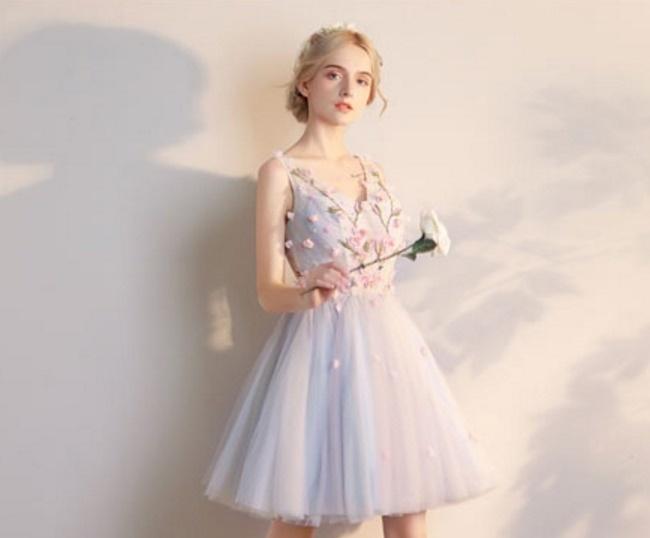 796263a136e09 パーティーダンスドレスRIEBODYSTYLE D-2/舞台衣装・結婚式・二次会ミニ ...