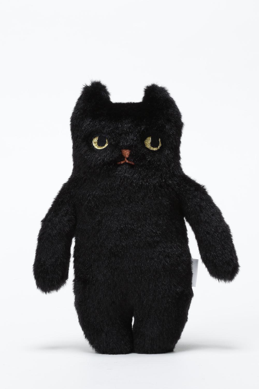【再入荷】ネコぬいぐるみ ブラック
