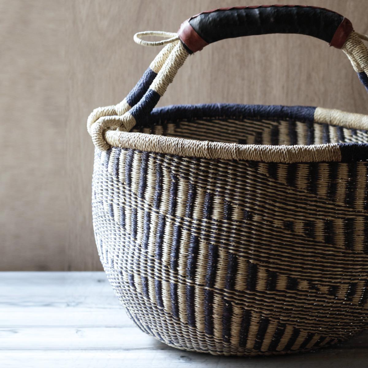 Bolga Basket Round / L