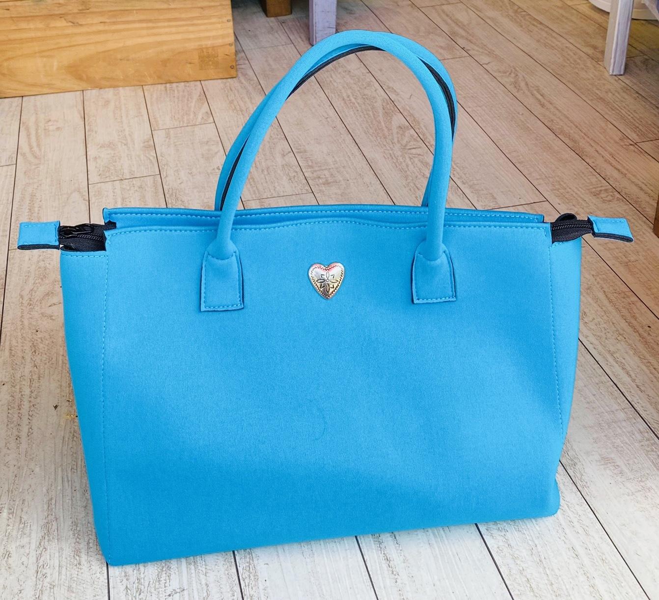 Emie's Bag フレッシュブルー(ウエットスーツ素材)
