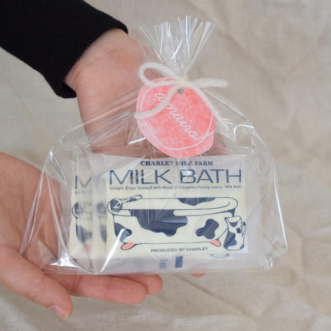 ミルクバスギフトセット(入浴剤3個入)