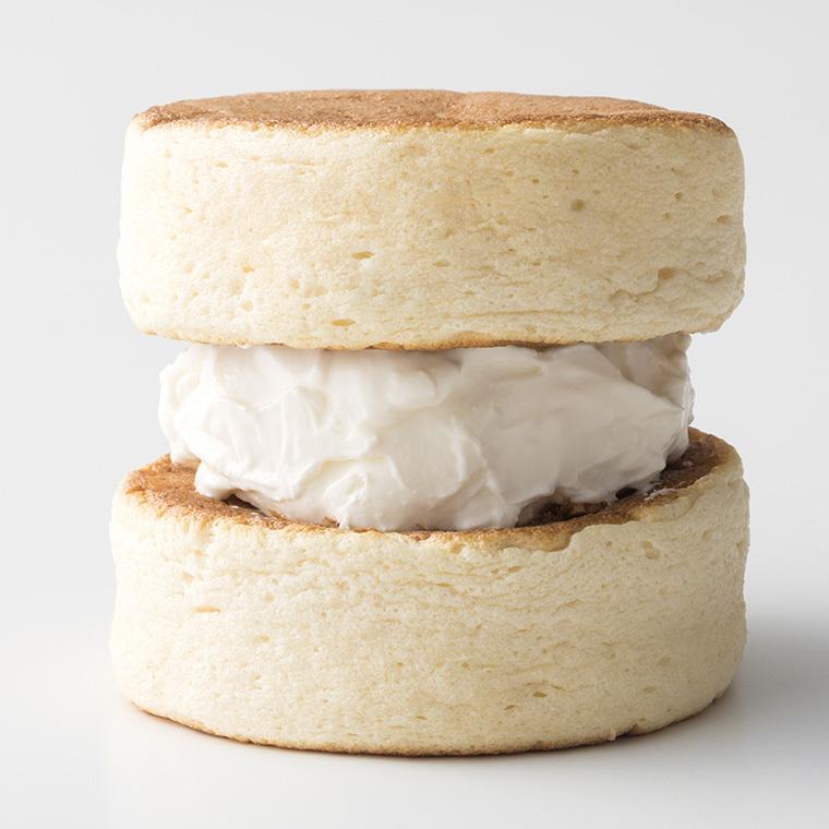 ふわふわ わぬき ミルククリーム5個と小豆クリーム5個セット