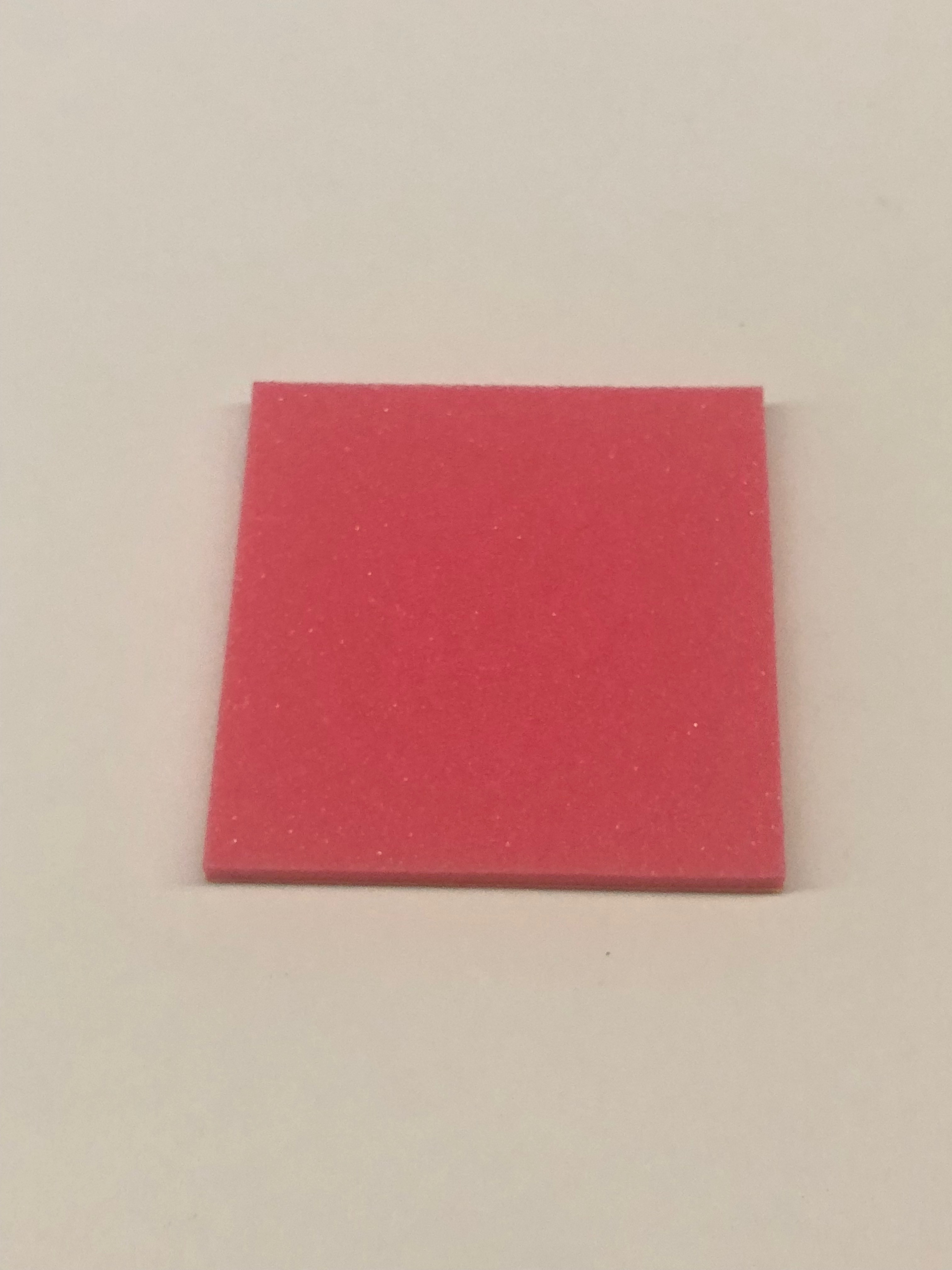 ブレーキスポンジ ピンク3mm 1枚