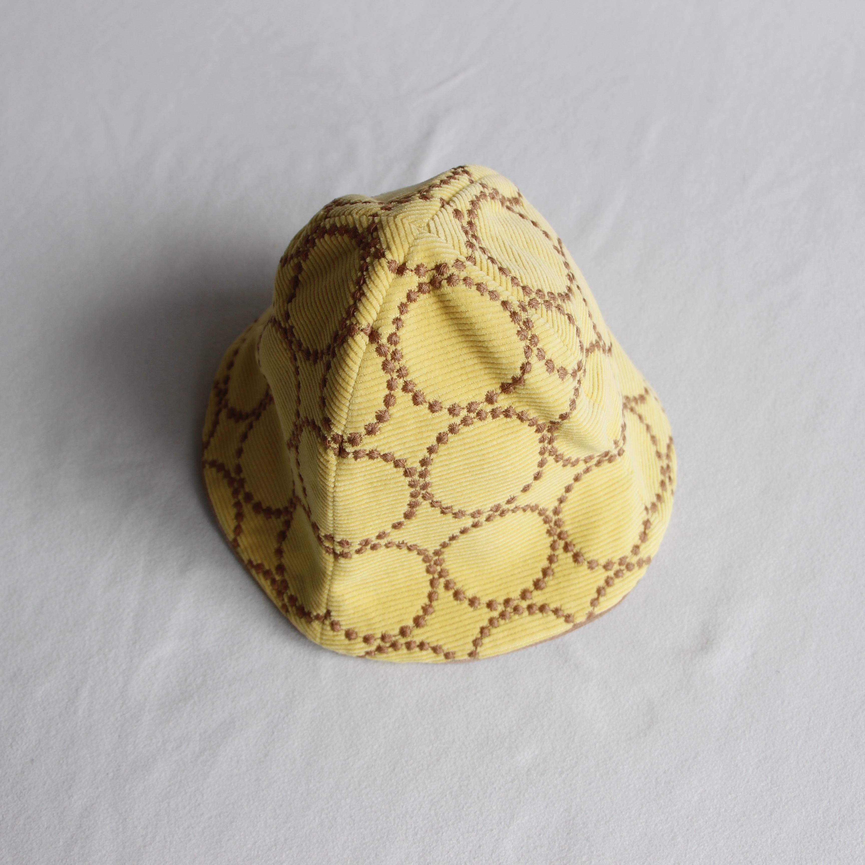 《mina perhonen 2020AW》tambourine 帽子 / yellow