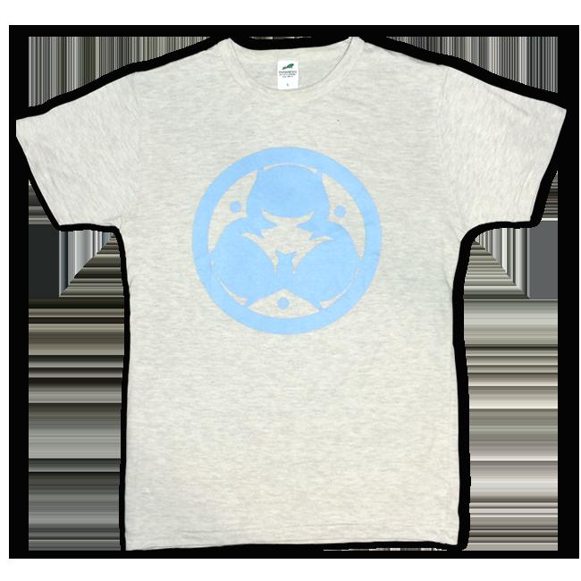 「ピノキオピー2015年祭りだヘイカモン」Tシャツ(メンズ/オートミール) - 画像1