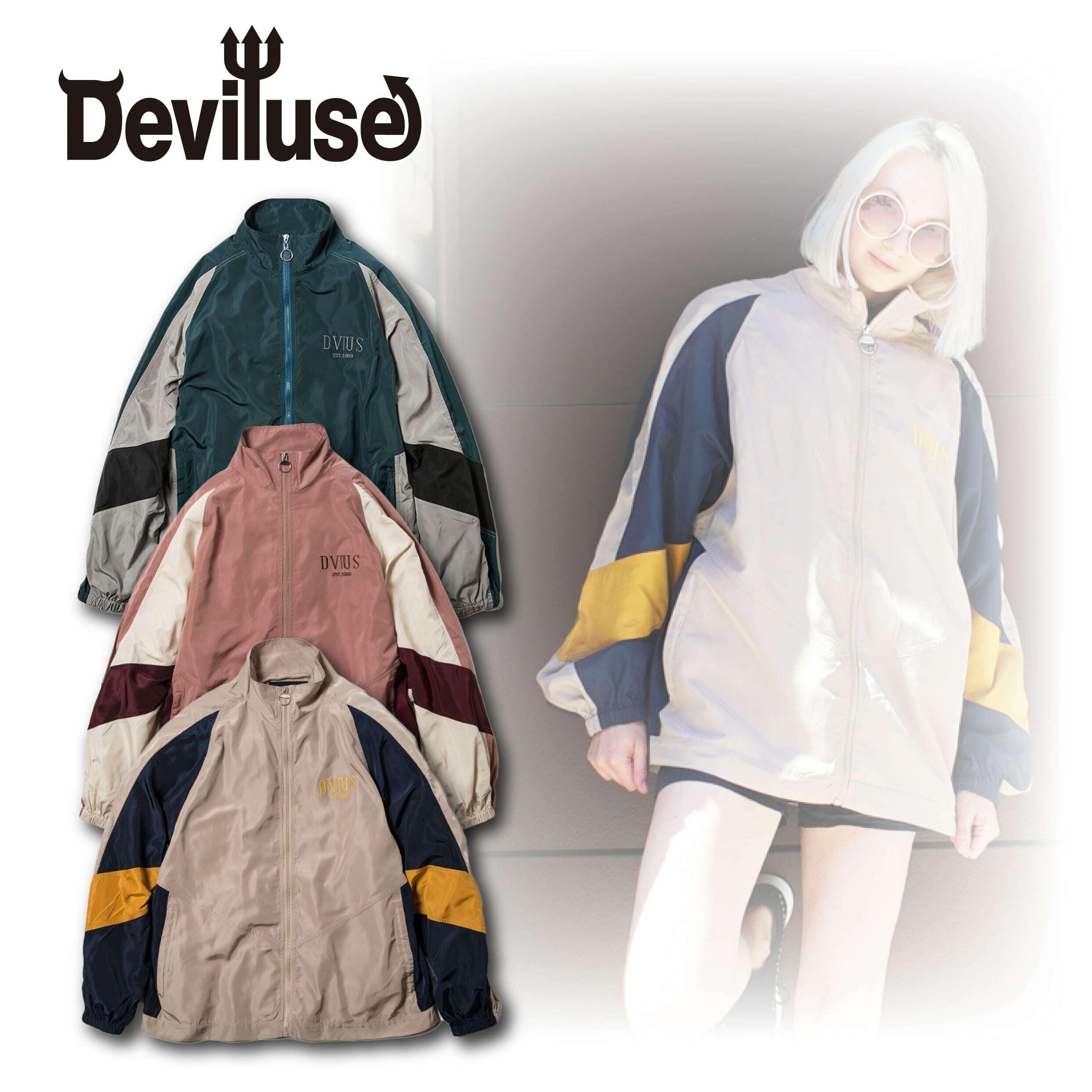 Deviluse(デビルユース) | Nylon Track JKT