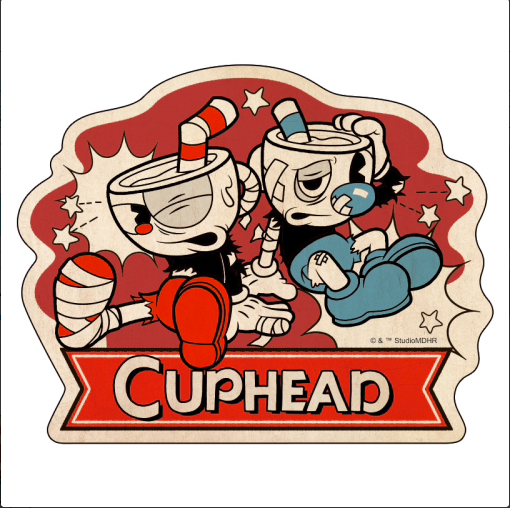 CUPHEAD ( カップヘッド )  トラベルステッカー (18) / エンスカイ