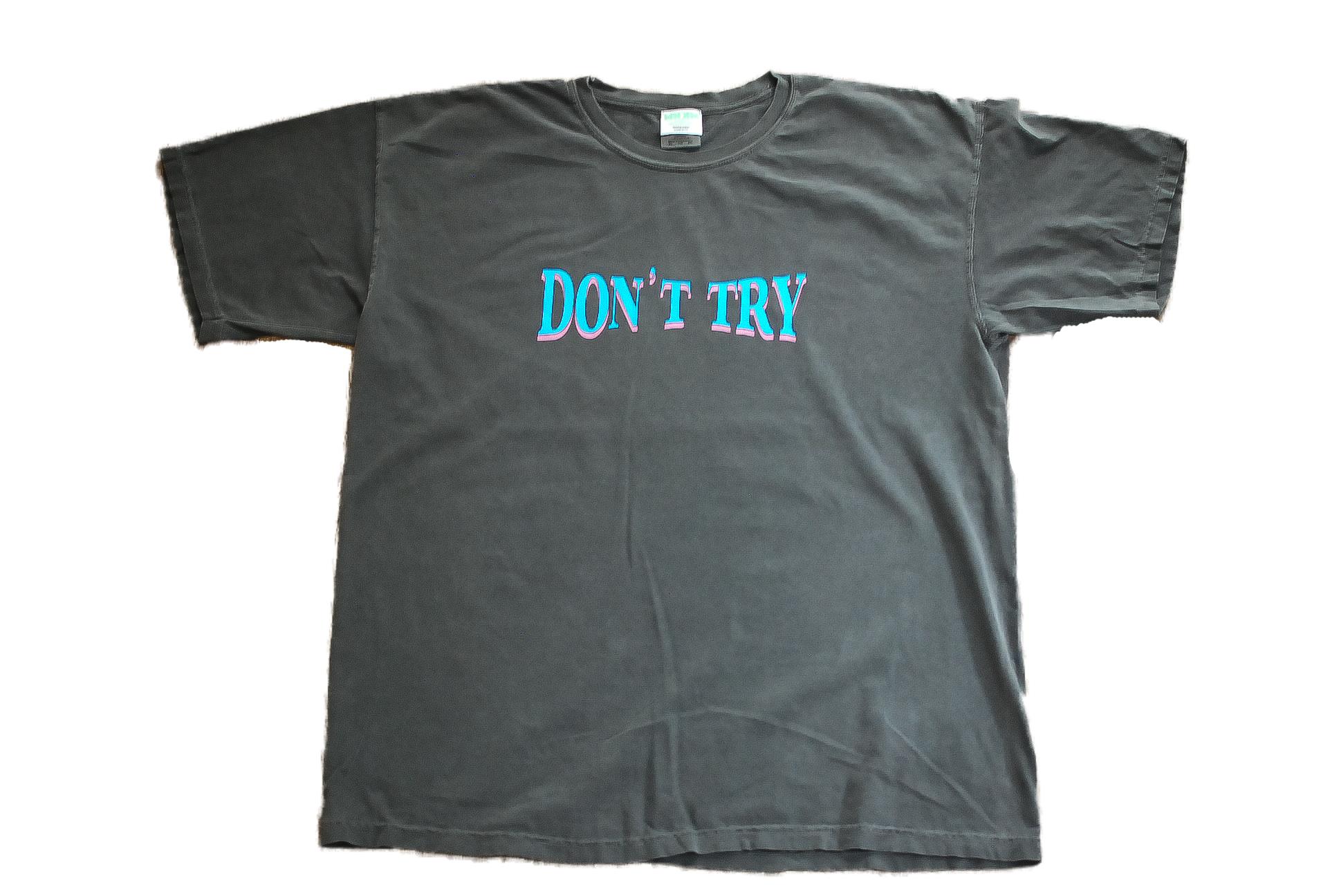 【UNISEX】Don't try Emblem Tee