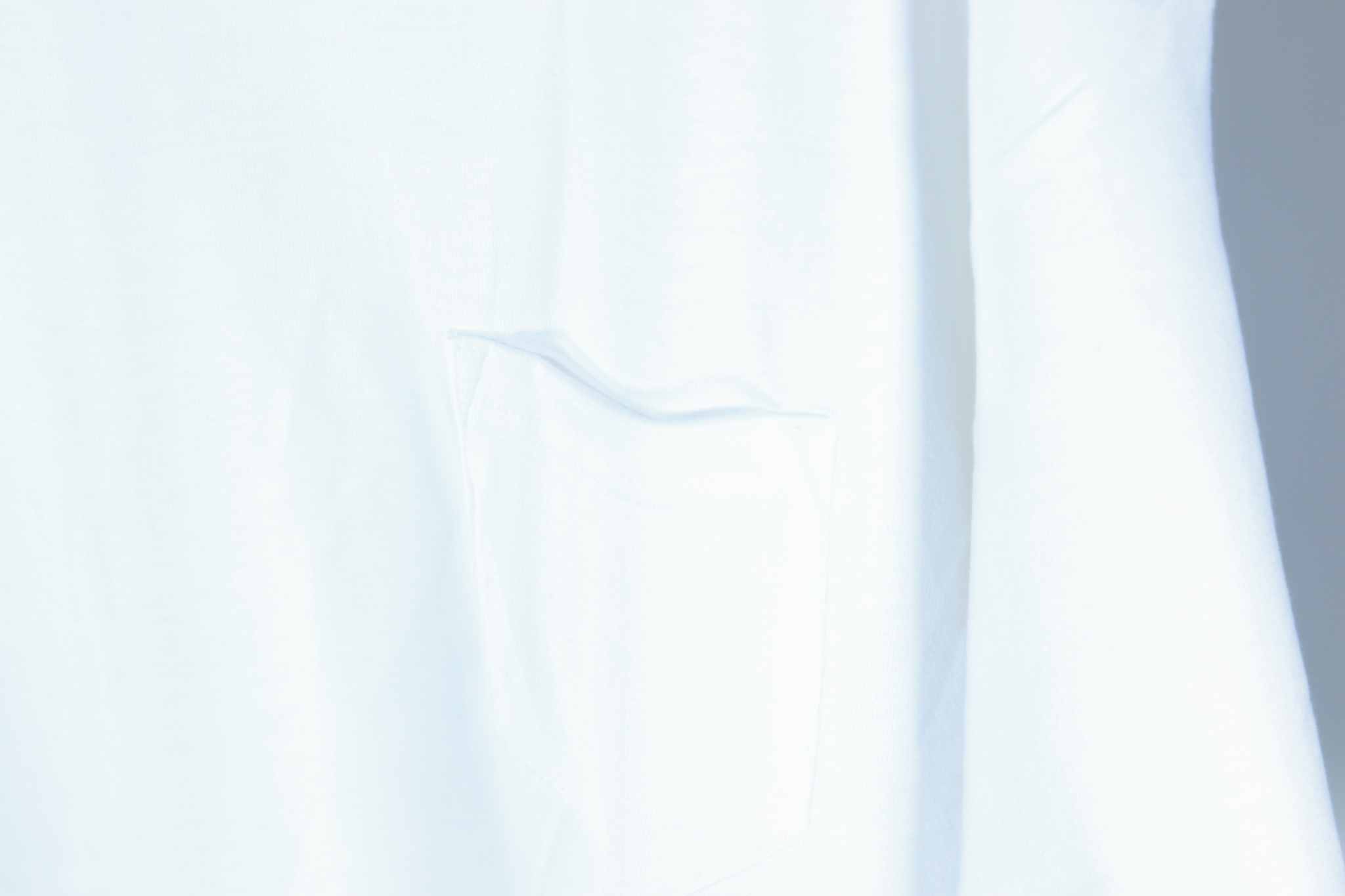 MUJI WAPPEN POCKET TEE [WHITE]