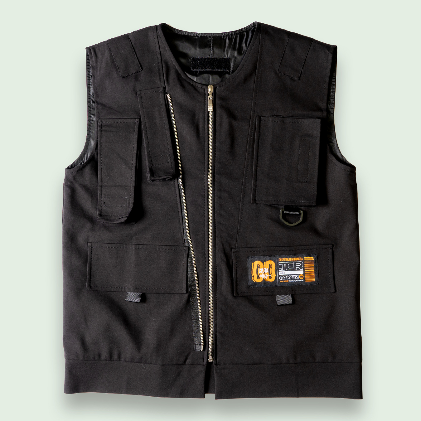 TCR-TEX WORK VEST - BLACK