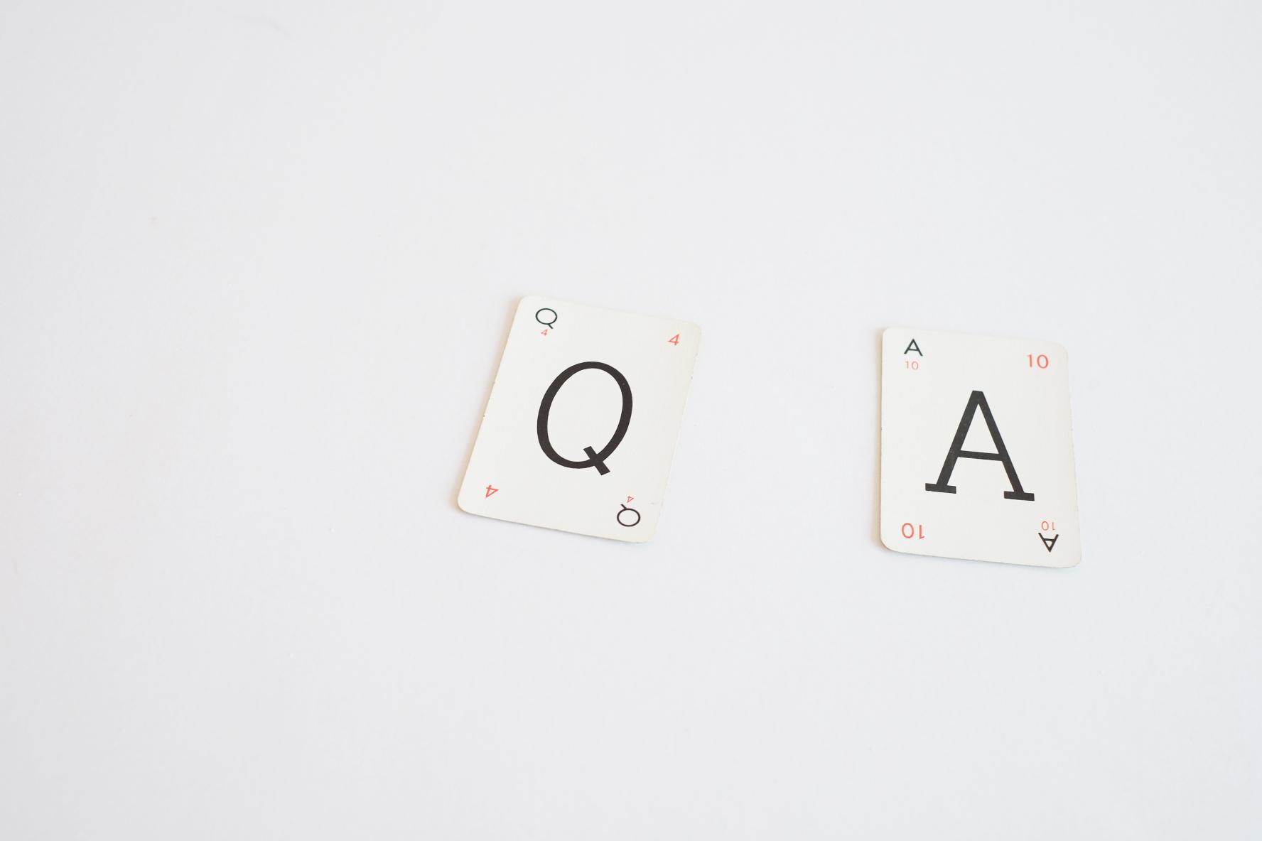 Q & A:切り札はクエスチョン