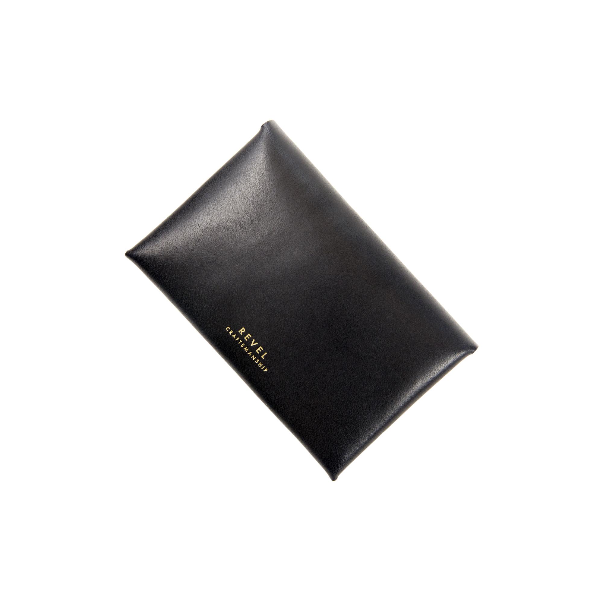 SLIM CARD CASE BLACK [EST OIL]