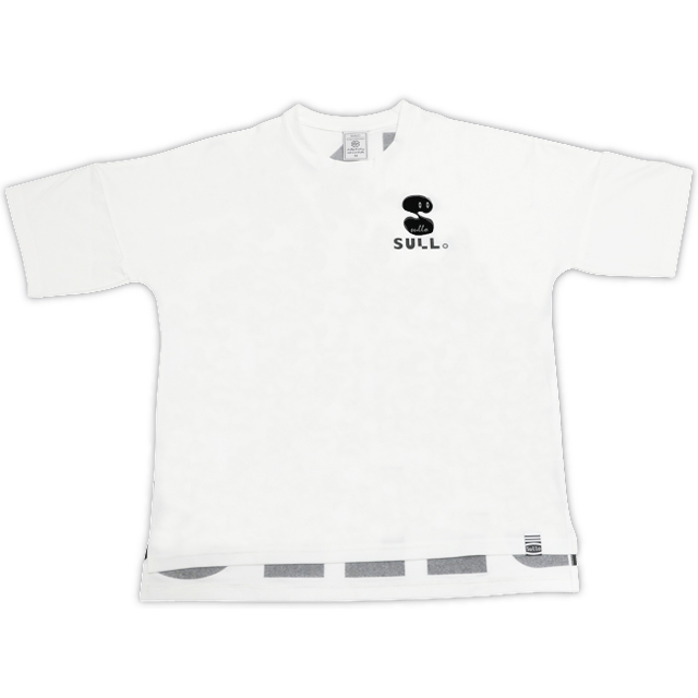 DROP SHOULDER BIG LOGO(WHT)