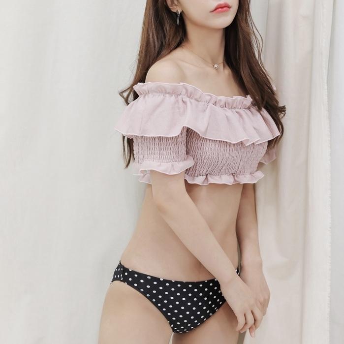【即納】スカート付き❤︎3SETスイムウエア
