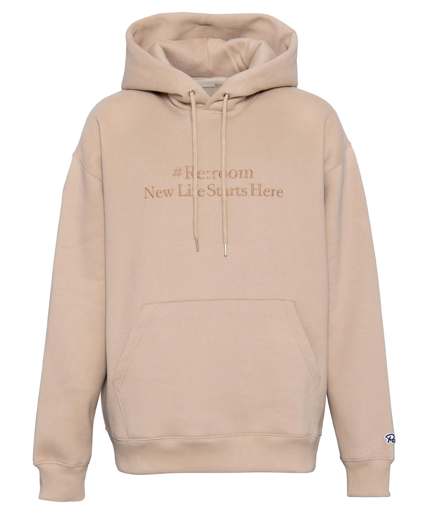 EMBROIDERY MESSAGE BIG SWEAT[REC333]