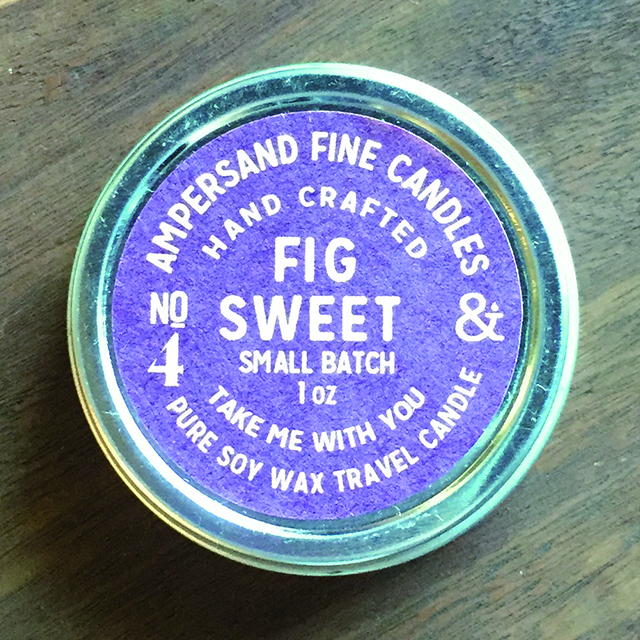 1oz Travel Can -FIG SWEET- キャンドル Candles - 画像1