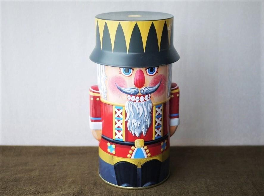 くるみ割り人形の缶 Tincan お菓子缶 ニュルンベルグ