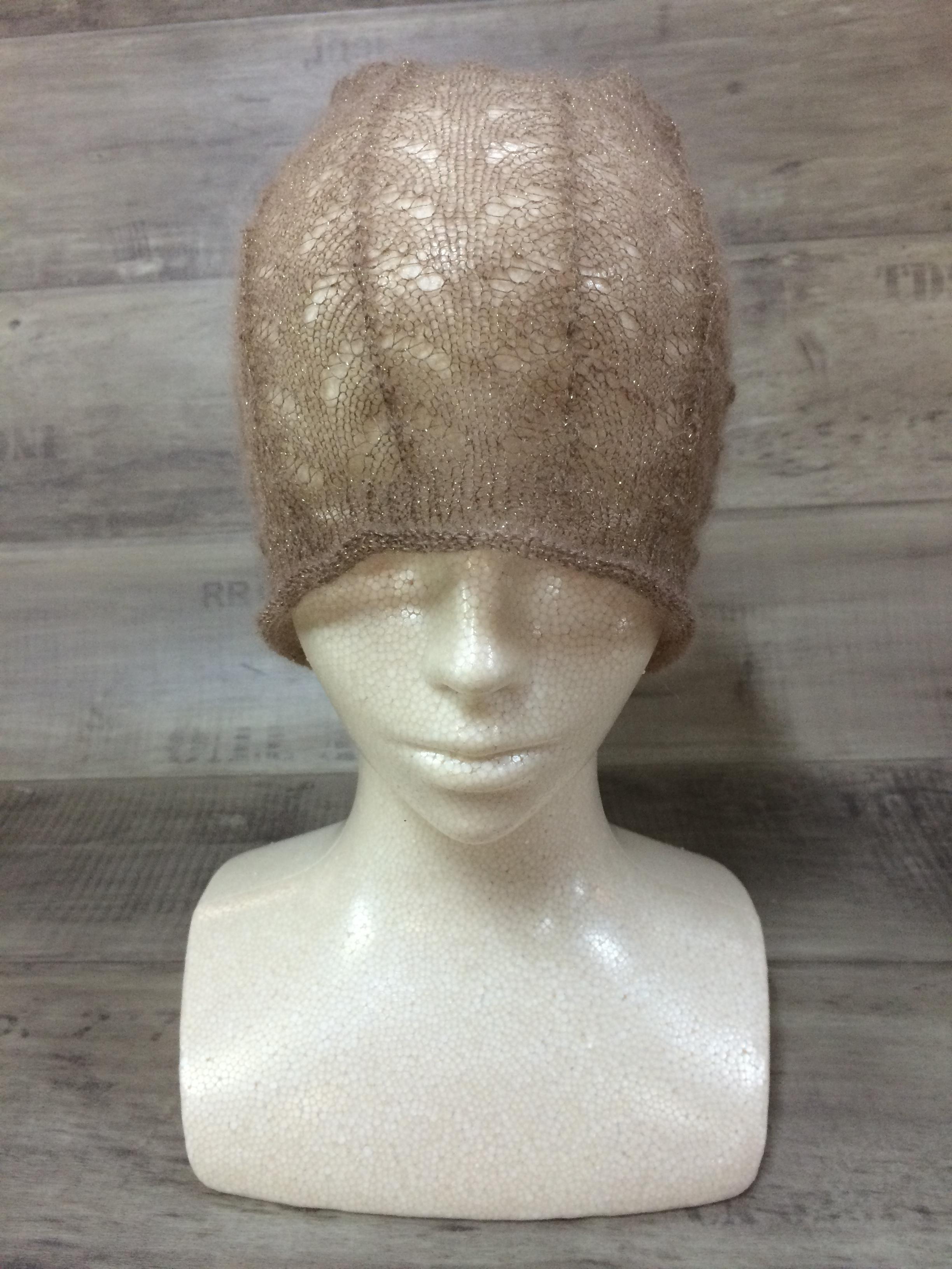 【送料無料】こころが軽くなるニット帽子amuamu|新潟の老舗ニットメーカーが考案した抗がん治療中の脱毛ストレスを軽減する機能性と豊富なデザイン NB-6507|MOCHA - 画像3