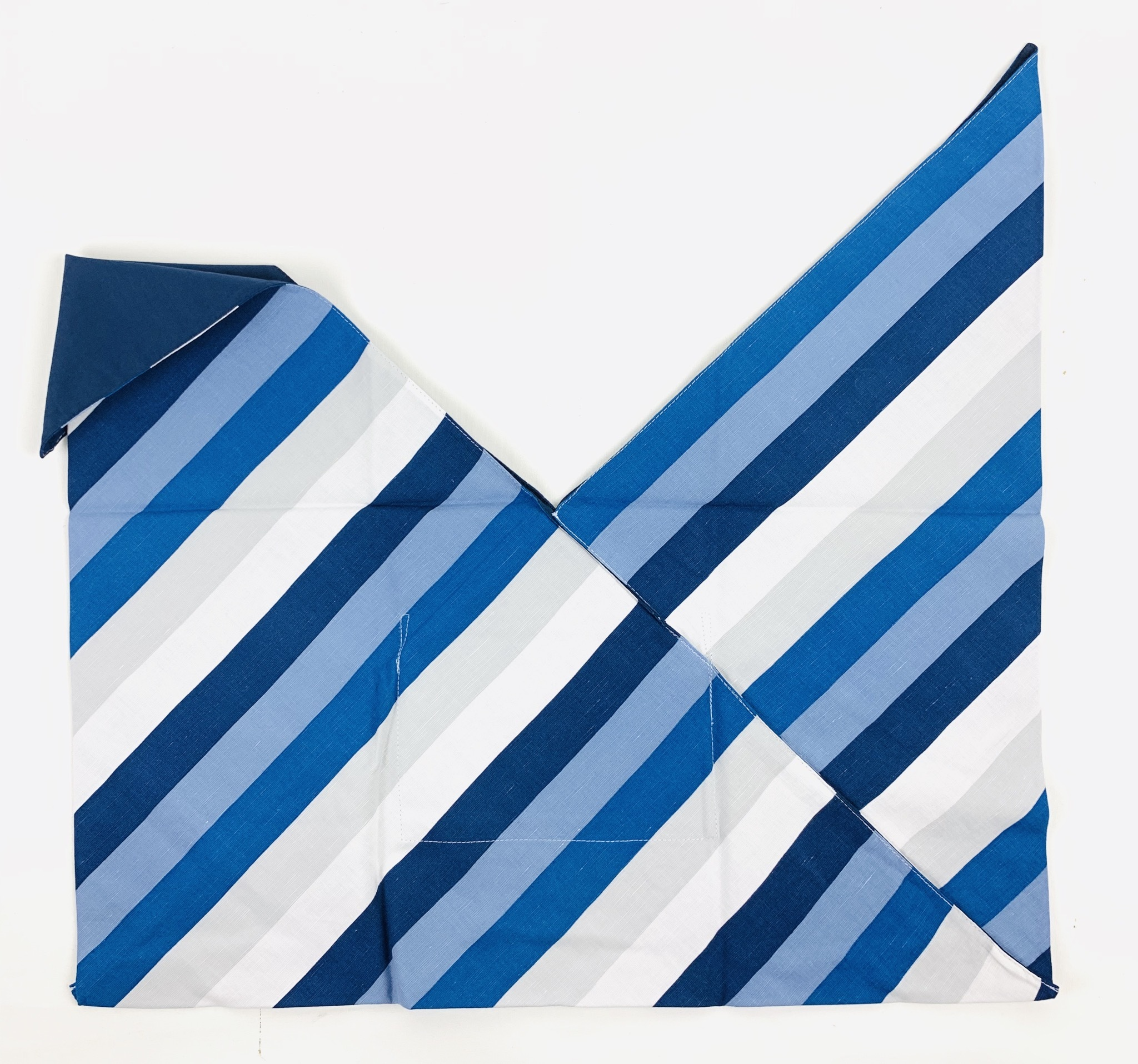 インバッグ ストライプ ブルー【Sサイズバッグ対応】