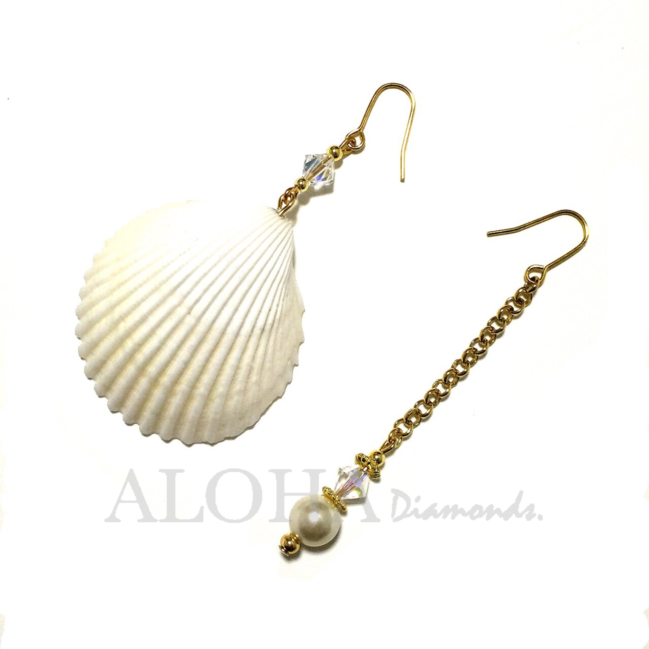 ▲▲▲White Mermaid ▲▲▲ ピアス