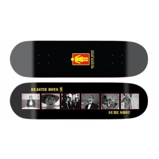 Beastie Boys × Spike Jonze × Girl #Sure Shot Skateboard Deck
