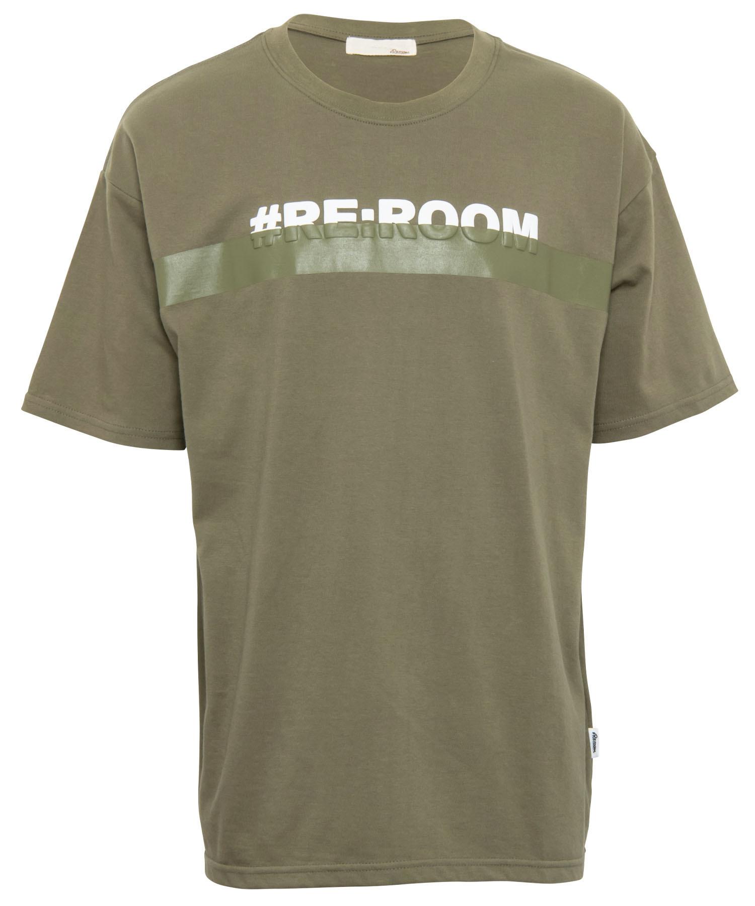 3D LOGO PRINT LINE BIG T-shirt[REC406]