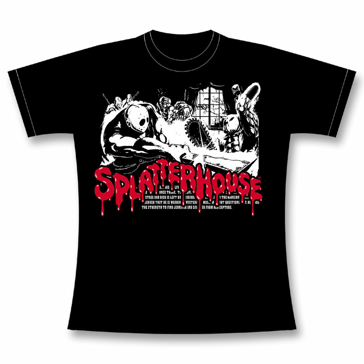 スプラッターハウス【Splatter House Tee】/ GAMES GLORIOUS
