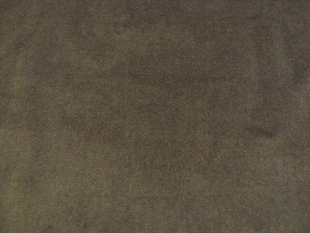ストレッチ・レアルベルベット織物 モカグレー CTM-0046