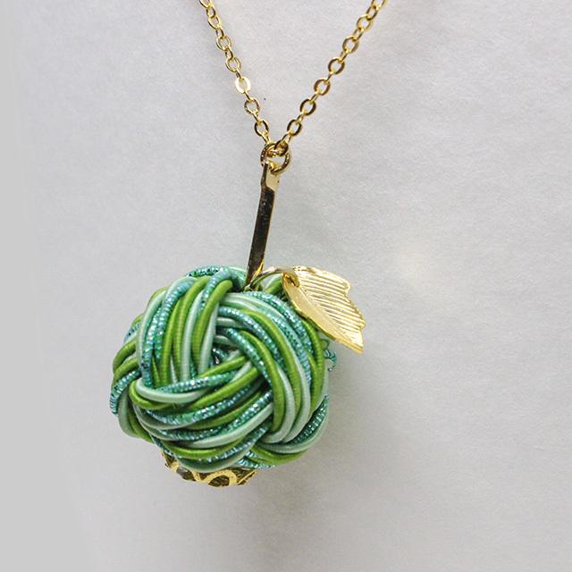 【予約商品】知性輝く青りんご ネックレス