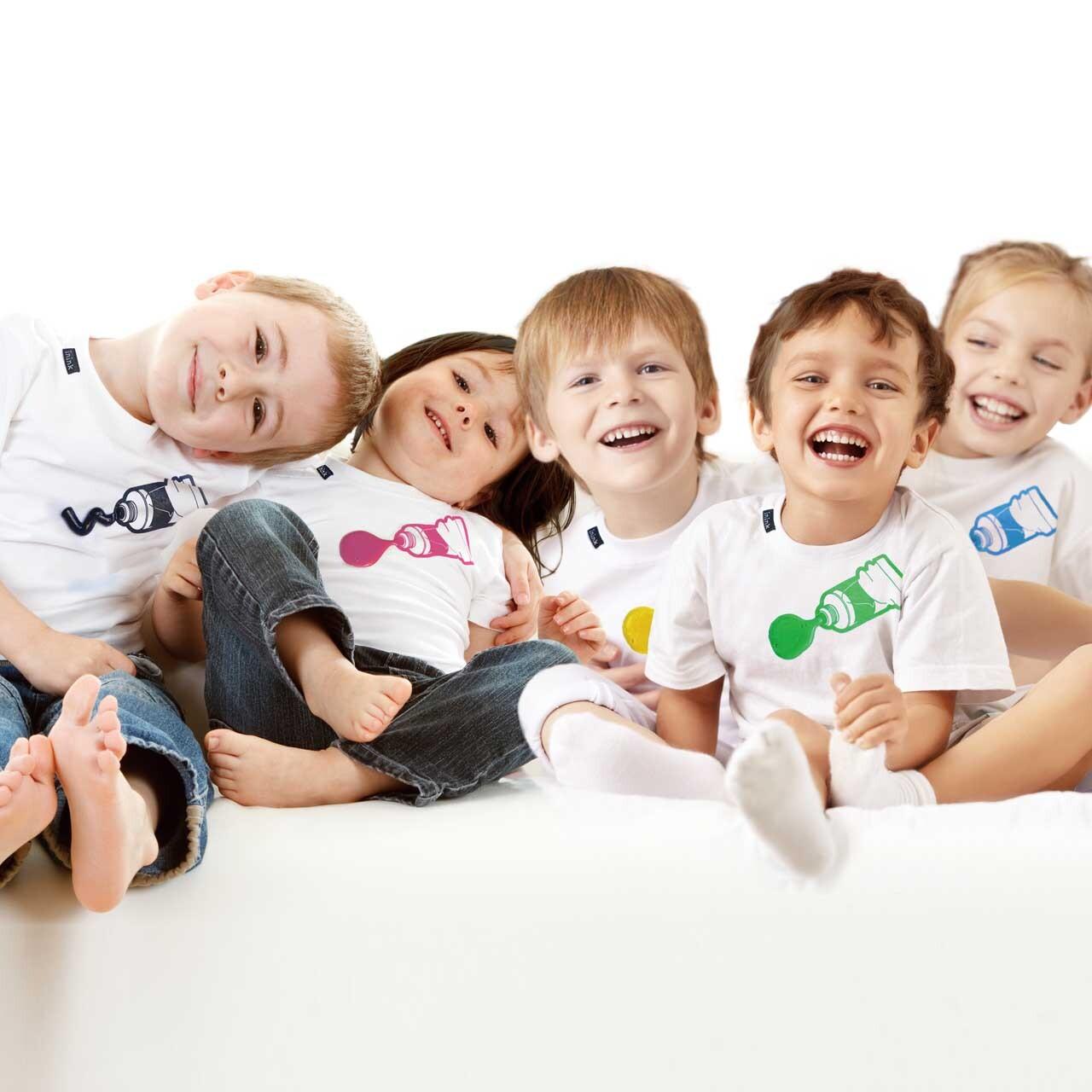 KIDS paint Tシャツ
