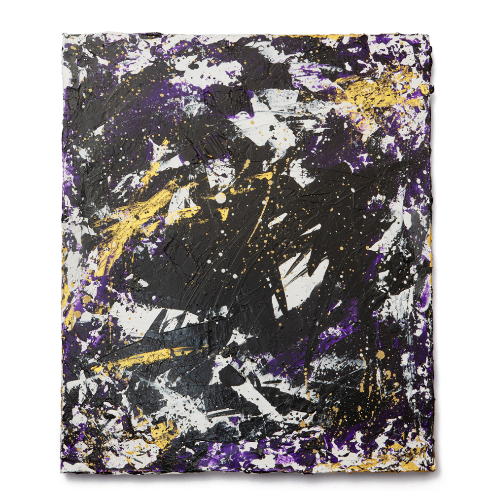 Abstract Painting: NEW GALAXY