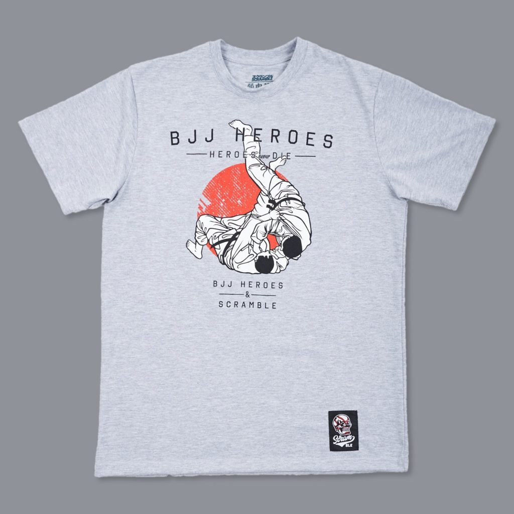 SCRAMBLE X BJJ HEROES Tシャツ