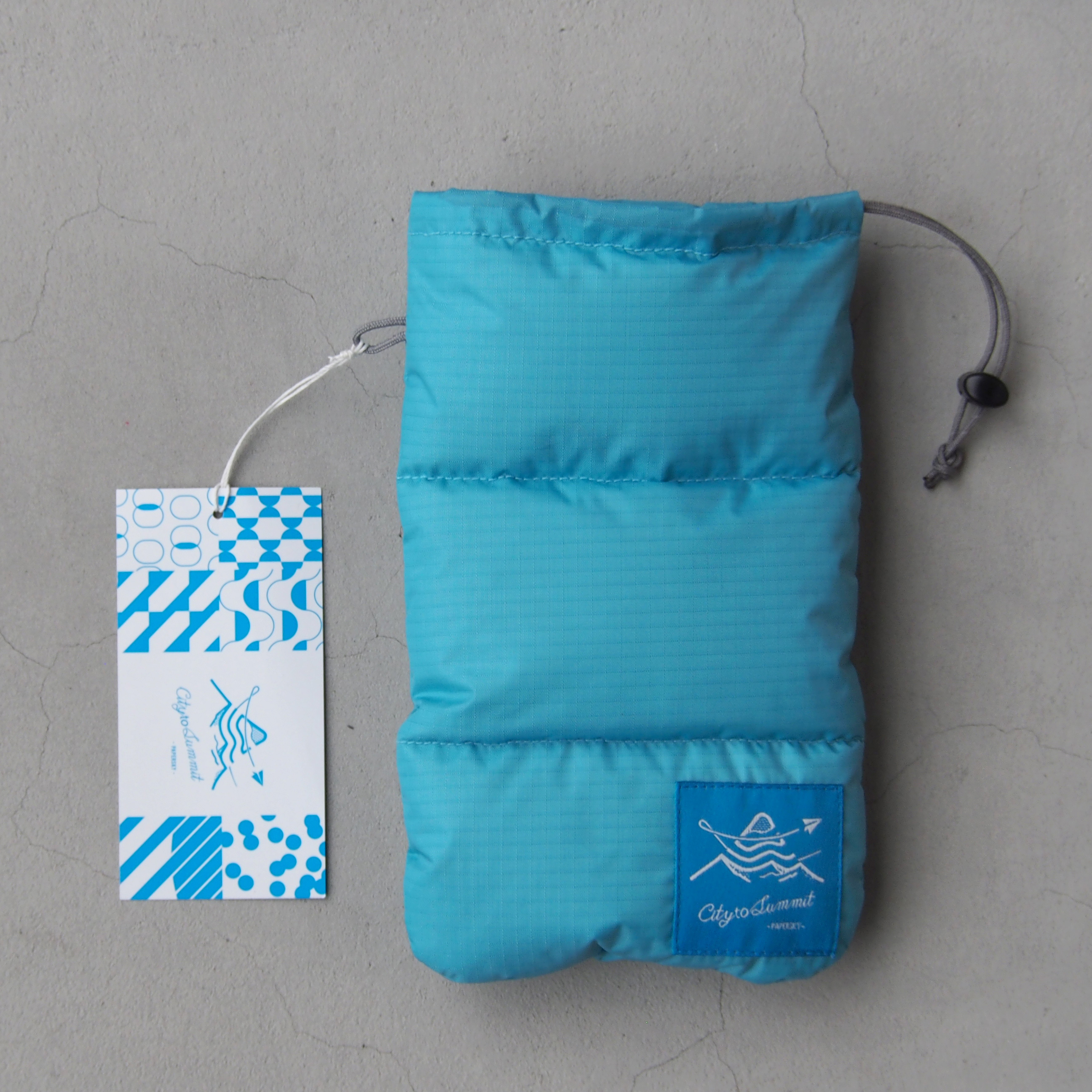 <20%OFF>寝袋サングラスケース ブルー