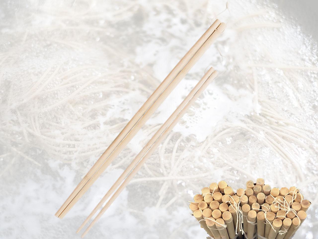 竹製 「本格的釜ゆで箸 60cm」