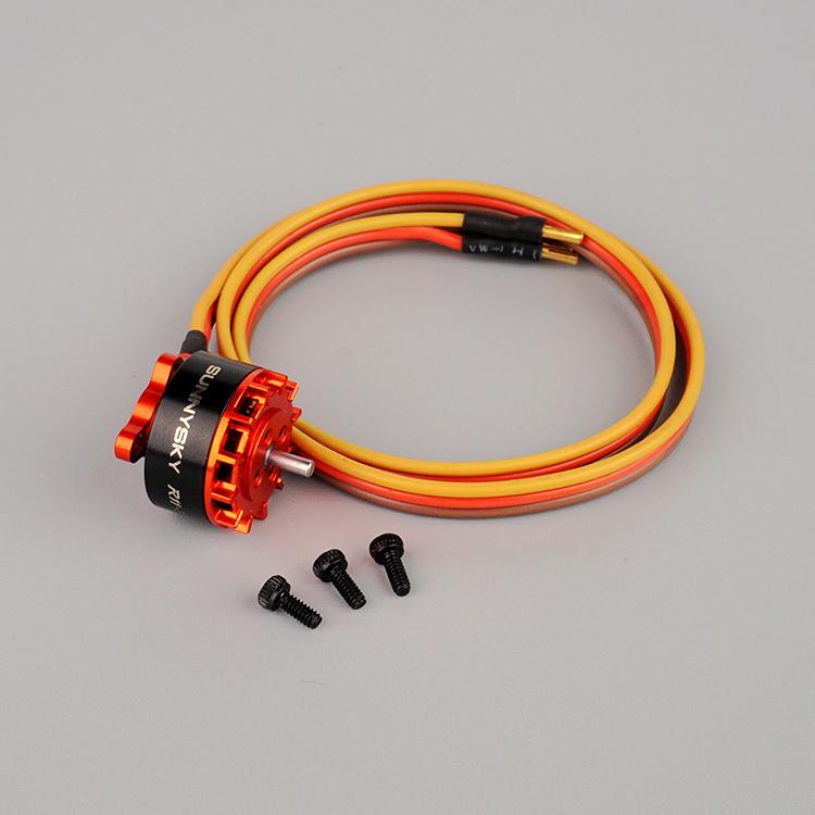 ◆OSHM2037  M2ブラシレステールモーター カラー / イエロー、オレンジ、ブルー (ネオヘリでM2購入者のみ購入可)