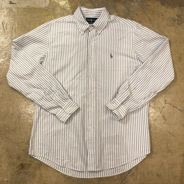 Ralph Lauren Striped L/S Button Down Shirt 3 ¥4600+tax