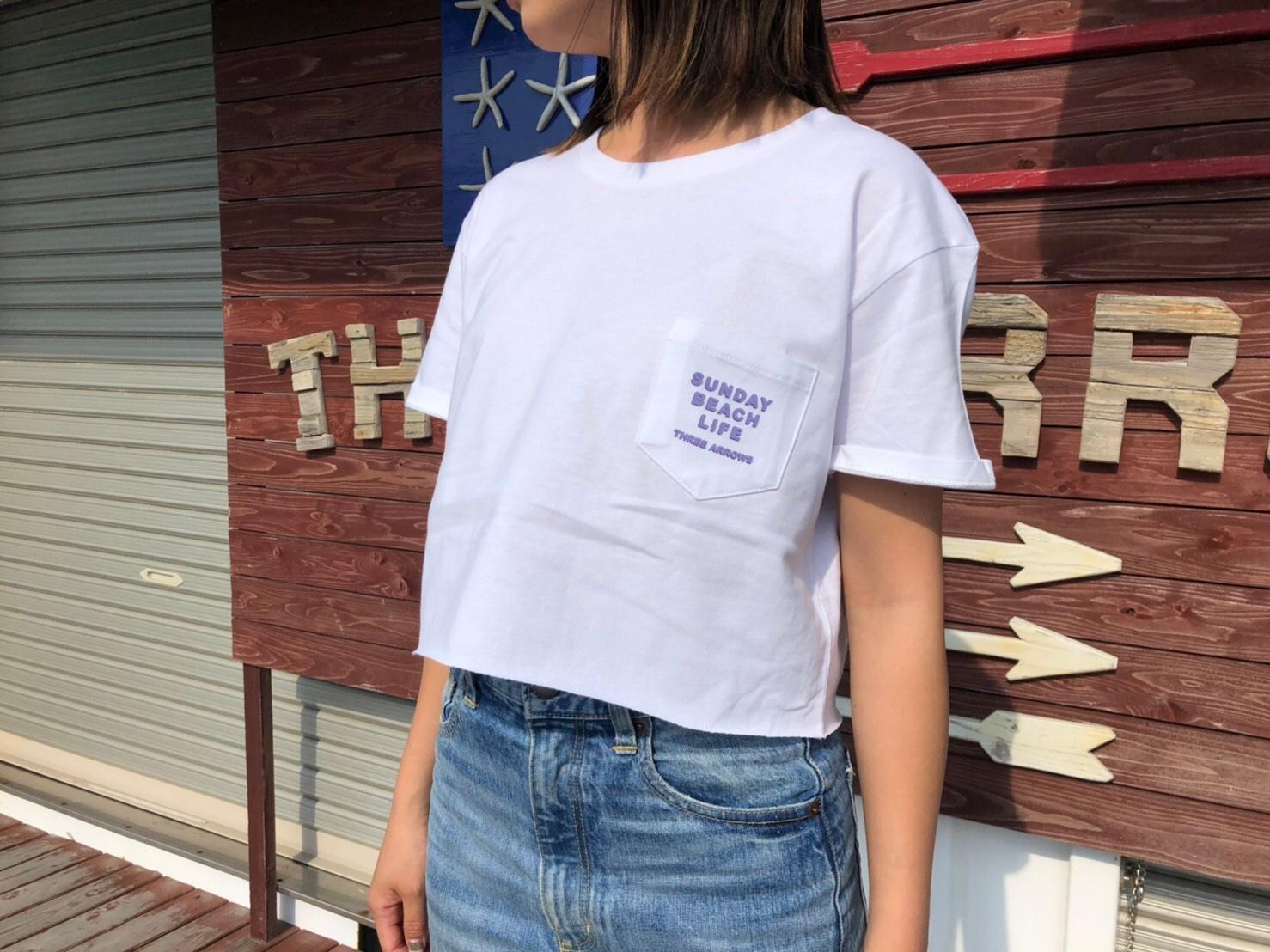 Sunday Beach Life Tシャツ(lavender × purple)
