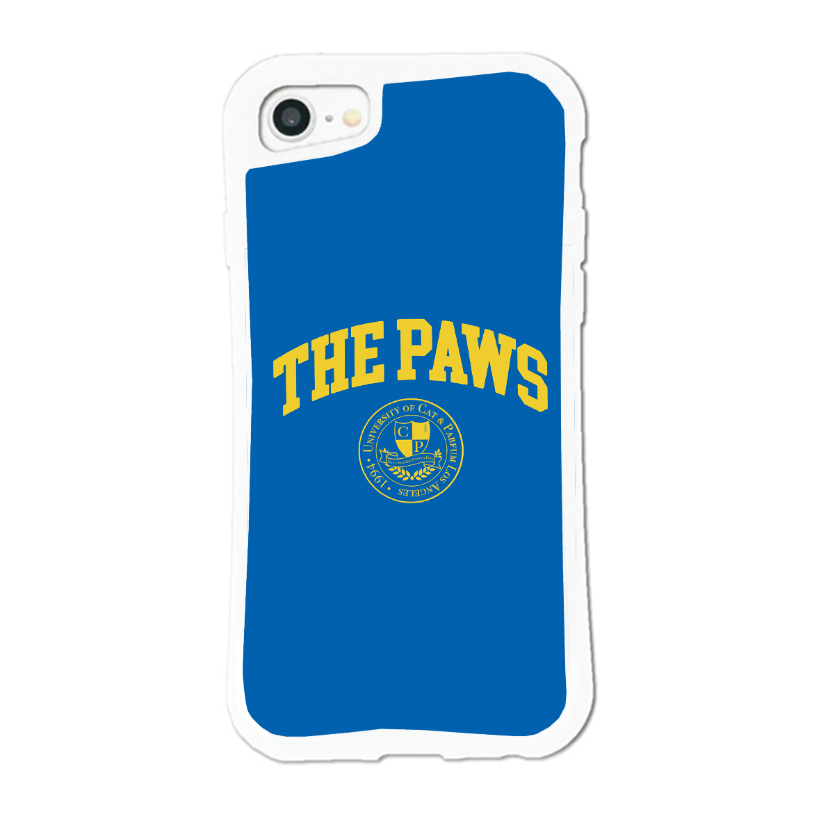 THE PAWS University iPhone Case