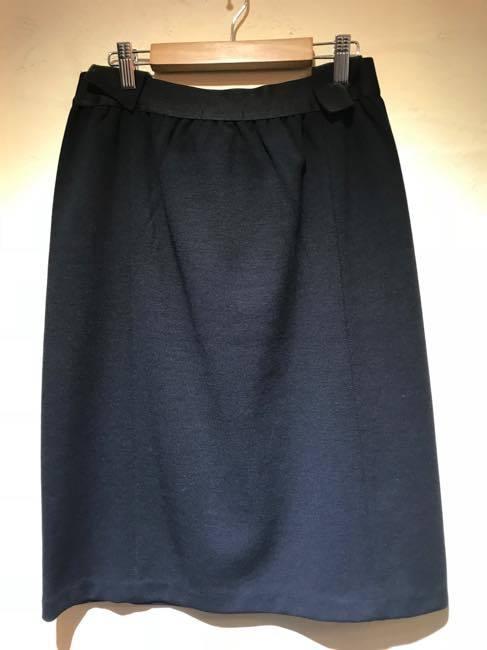 ジャージー素材お仕事用タイトスカート  黒    ALDRIDGE ✕blendo アルドリッジ×ブレンドオ コラボ